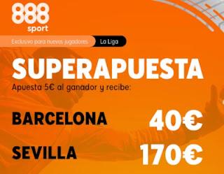 Superapuesta 888sport Barcelona v Sevilla 4-10-2020