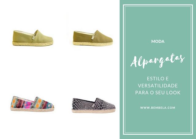 Alpargatas: Estilo e versatilidade para o seu look #moda
