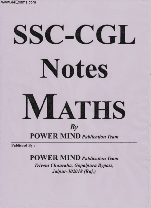 SSC-CGL-Math-Notes-by-Power-Mind-Publication-Team-Hindi-PDF-Book