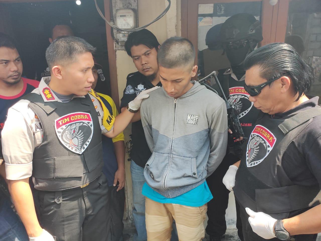 Tim Cobra Narkoba Polres Lumajang Tangkap Pengedar Narkoba 77,7 GR,  Diduga Jaringan Sokobanah Sampang