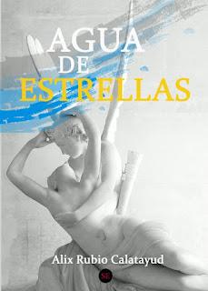 Portada del libro 'Agua de estrellas', una fotografía de la estatua 'Psique reanimada por el beso del amor' de Antonio Canova