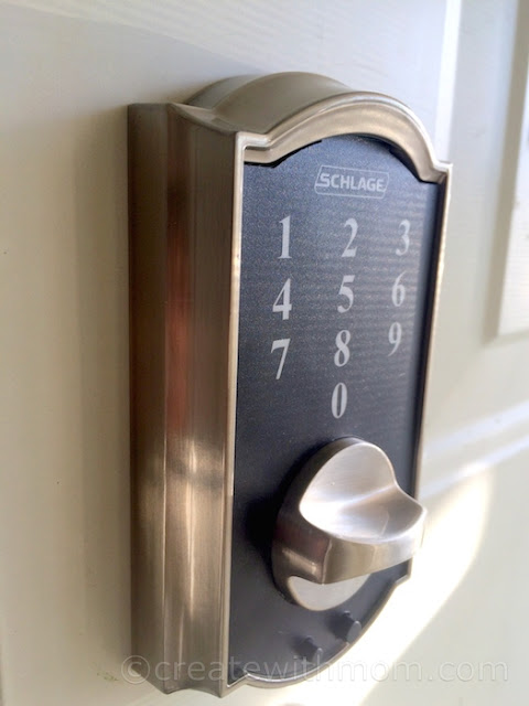 Create With Mom The Keyless Future With Schlage