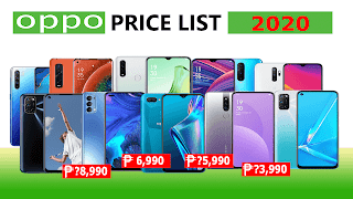 Oppo Smartphones Price List in the Philippines 2020
