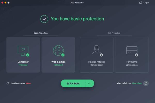 AVG Free Antivirus For Mac