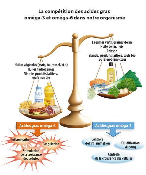 Blog d'infos Fa'Bio: Oméga 3, Oméga 6, un déséquilibre