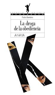 La droga de la obediencia. A droga da obediência. Pedro Bandeira. Espanha. Editorial Anaya. Colección Espacio Abierto. Mario Merlino. Capas de Livros. Book Cover. 2008.