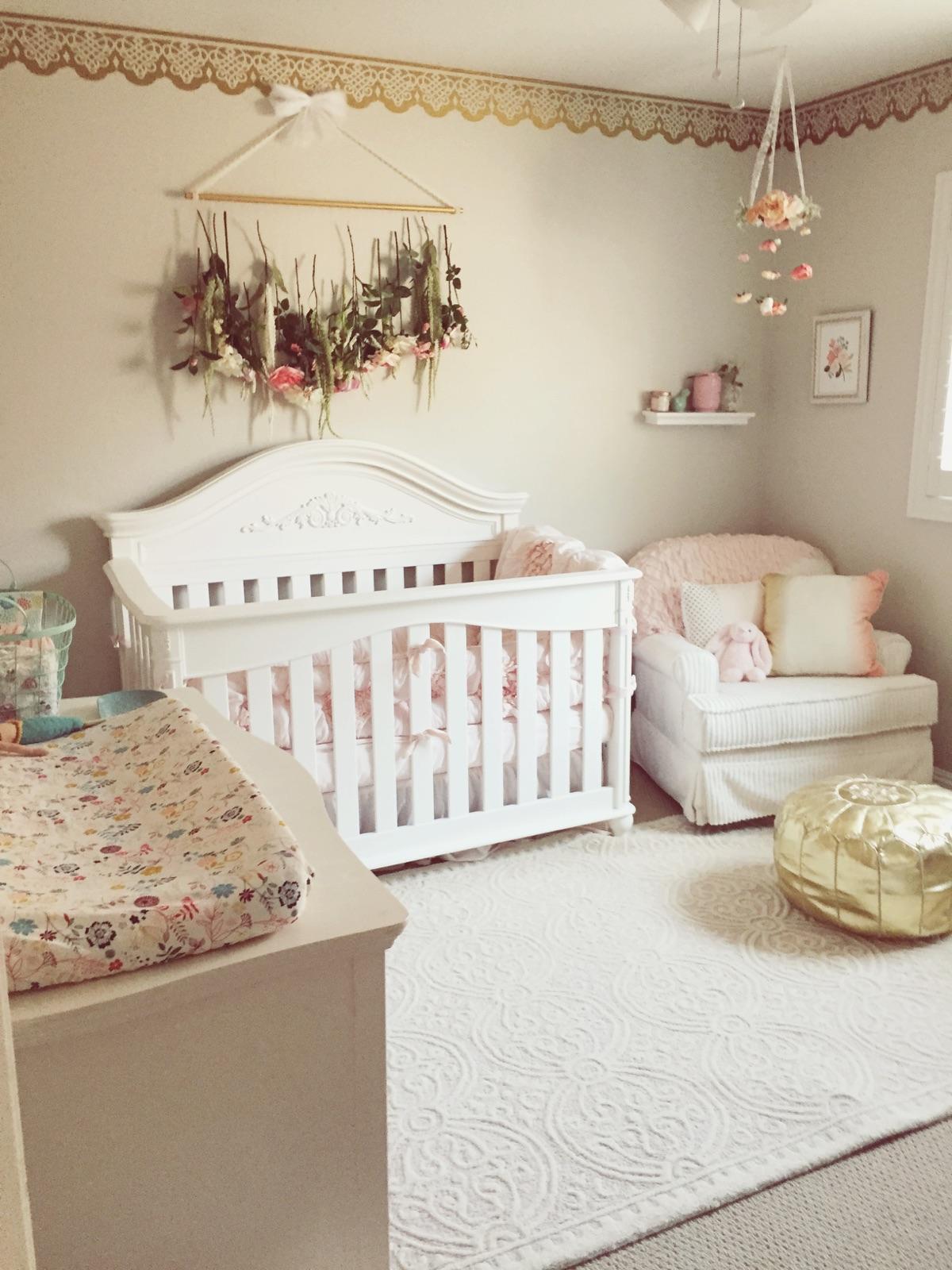 Curtains For Baby Girl Nursery: TESSA RAYANNE: Layla Sienna's Nursery Tour