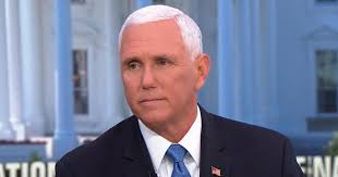 U.S VP Mike Pence Refuses To Say Anything About the  State Of the Atmospheric Condition Affecting The US