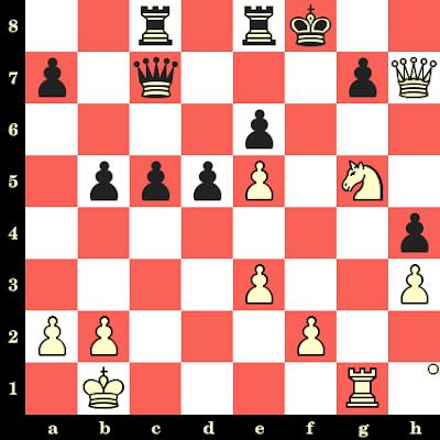 Les Blancs jouent et matent en 4 coups - Tony Miles vs Ole Jakobsen, Esbjerg, 1984