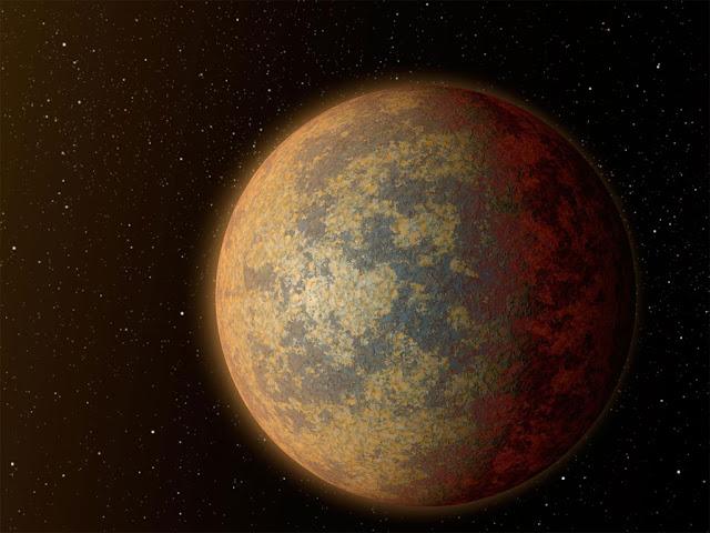 planeta rochoso - exoplaneta