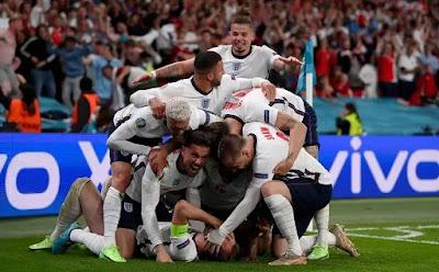منتخب انجلترا ينهى مشوار الدنمارك ويصارع إيطاليا فى نهائى يورو 2020