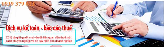 Dịch vụ báo cáo thuế hàng tháng uy tín, giá rẻ