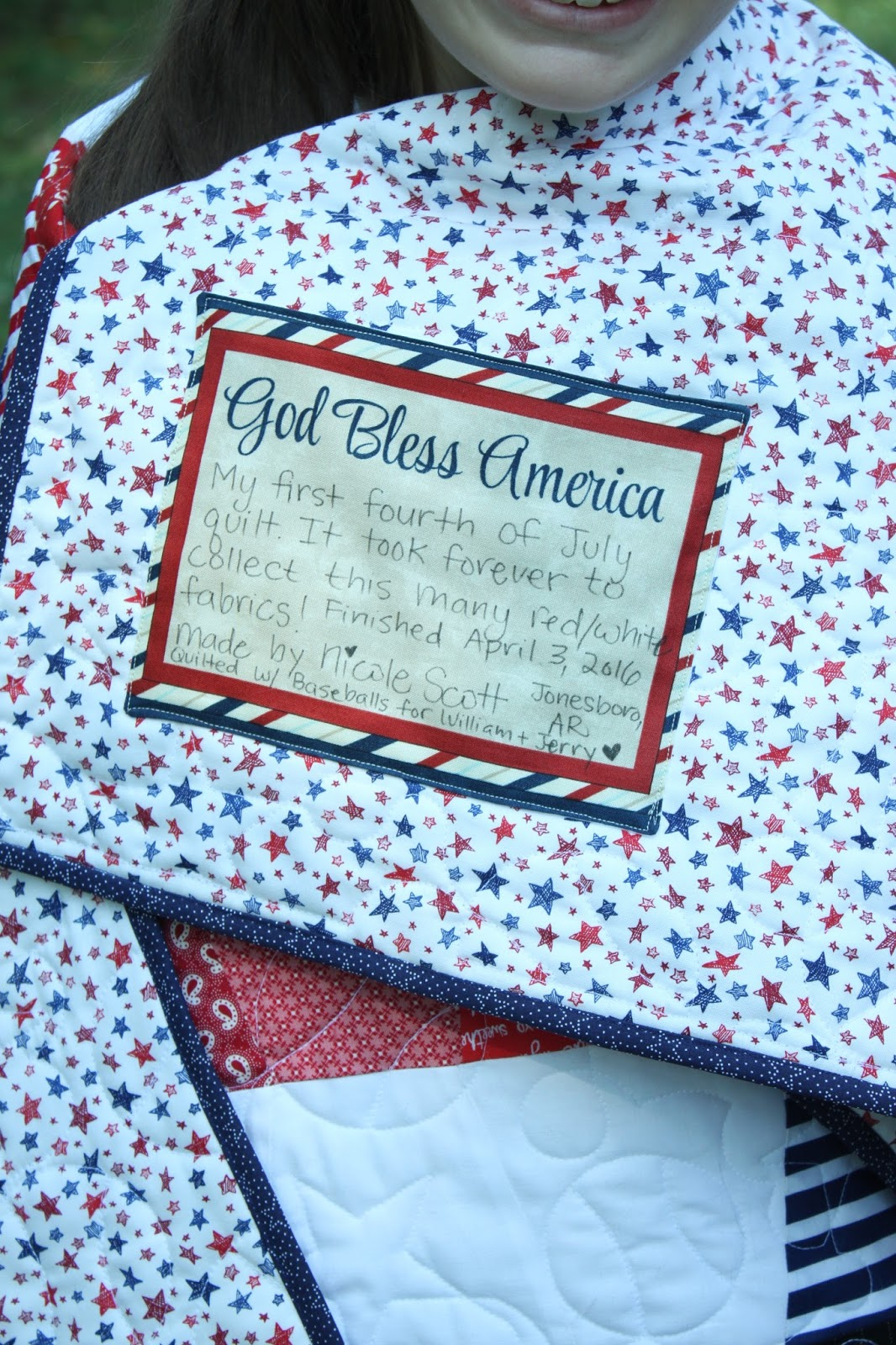 Cole's Corner and Creations: Sew Americana! : hand sew quilt - Adamdwight.com
