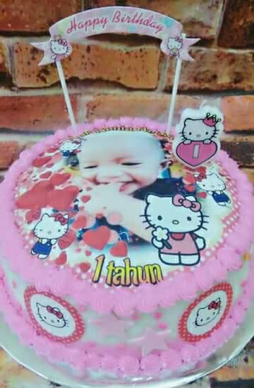 Kek Kitty Untuk Baby