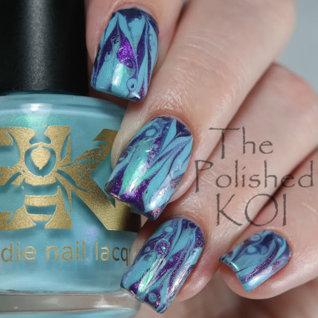 Bee's Knees Lacquer - Halloween in July and But of Quartz