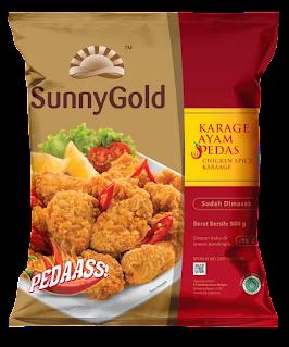 SunnyGold chicken spicy karaage
