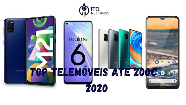 Top Telemóveis até 200€ em 2020