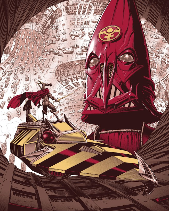Nemesis the Warlock with the Blitzspear - Illustration Chris Weston
