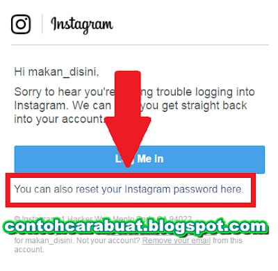 Cara Mengembalikan Instagram Yang Lupa Password | Ubah Sandi Akun
