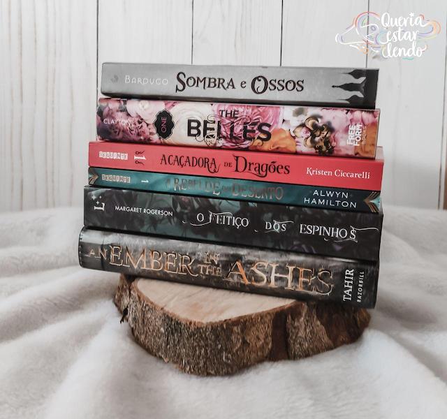 6 livros de fantasia para quem tá começando