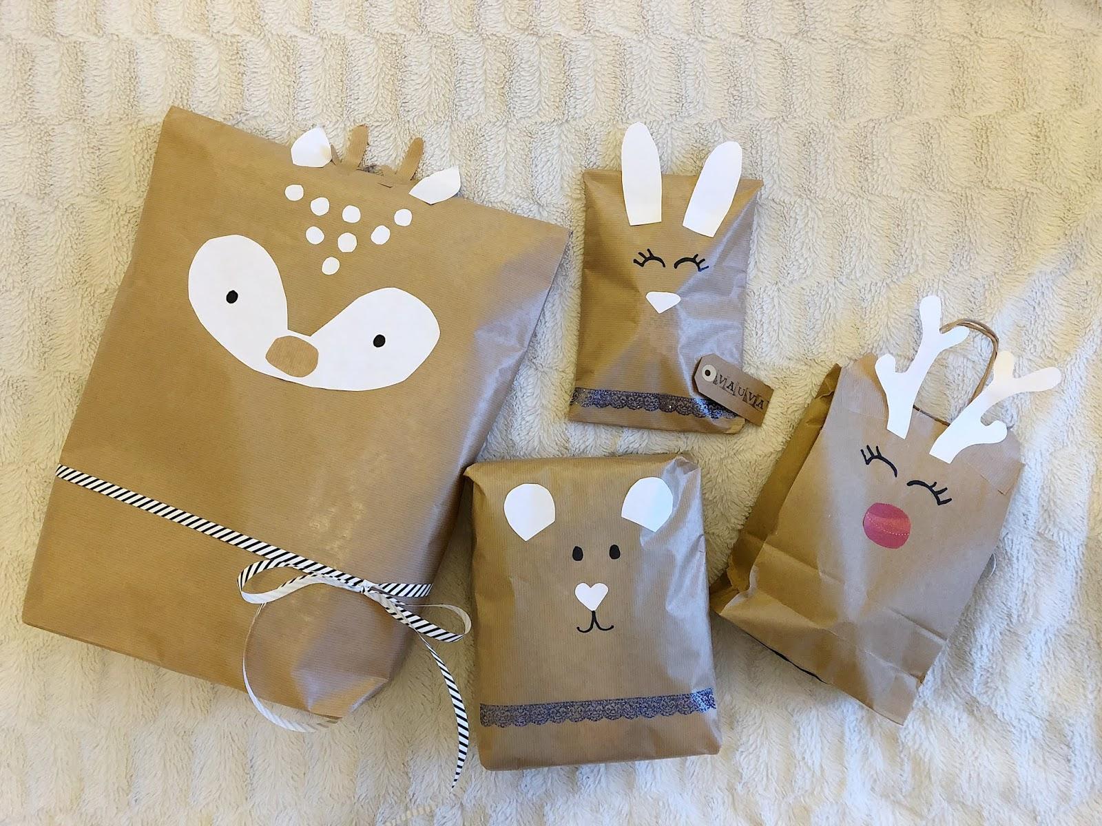 Paketointi-ideoita jouluun
