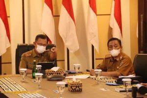 Sekdaprov Lampung Ikuti Indonesia Food Summit 2021