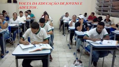 Resultado de imagem para reativação do eja em taquaritinga