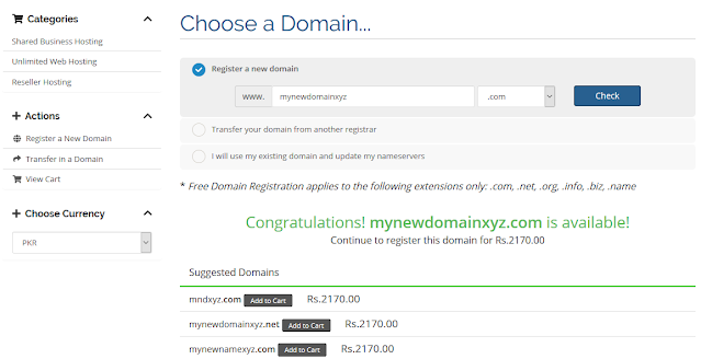 How To Buy Domain And Hosting In Pakistan - Step By Step 4