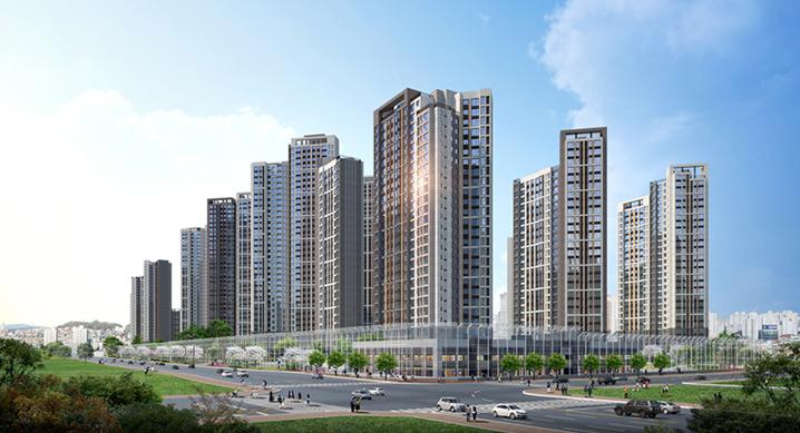 현대·대우건설, 인천 미추홀구 '힐스테이트 푸르지오 주안' 견본주택 개관