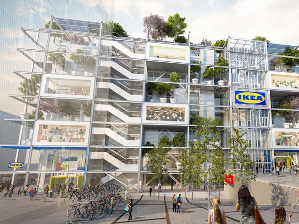 gelesen KW 12 - Der dritte Ikea in Wien wird ein Zeichen der Zeit