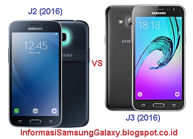 Perbandingan Samsung Galaxy J2 (2016) vs J3 (2016)
