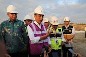 Presiden Jokowi Tinjau Pembangunan Tol Sibanceh