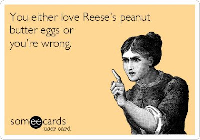easter e-card, someecard easter, easter jokes, easter comic, easter humor, easter candy, easter candy joke, Easter Reese eggs