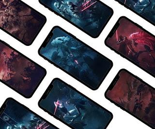 7 Amazing phone wallpapers - Stormtrooper vs Xenomorph