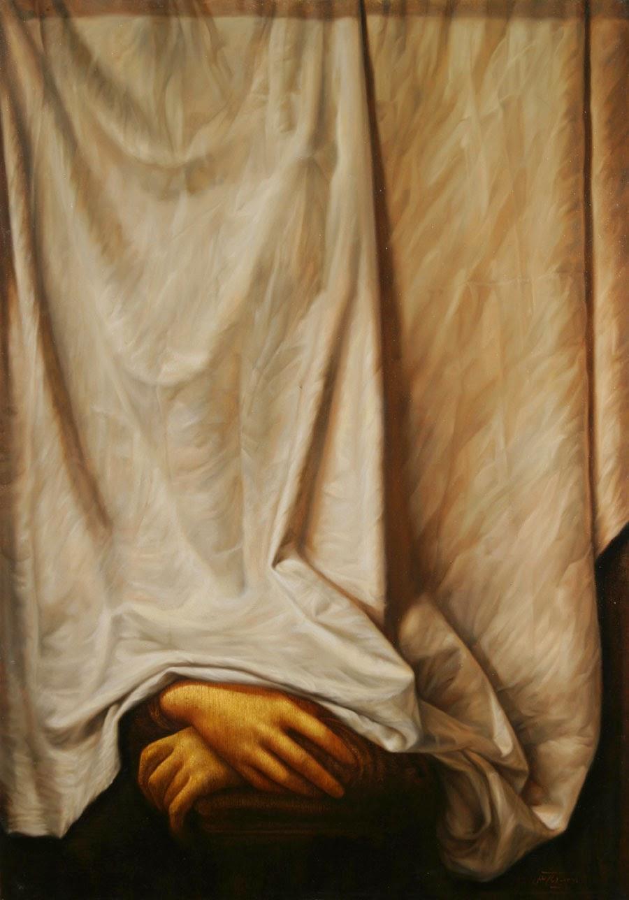 Cobertura Instável - Iman Maleki e suas pinturas realistas ~ Pintor iraniano