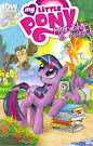 MLP Friendship is Magic #1 Comic Cover A Variant