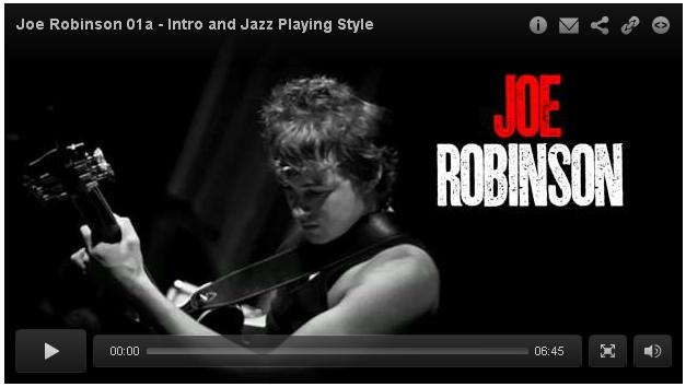 joe robinson fingerpicking lesson guitar lessons mart records music to your ears. Black Bedroom Furniture Sets. Home Design Ideas