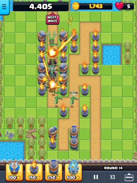 Game Online Web Based Endless Siege