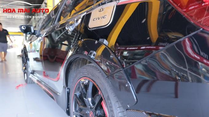 Cua lốp Honda Civic tại hệ thống Auto365 Nha Trang