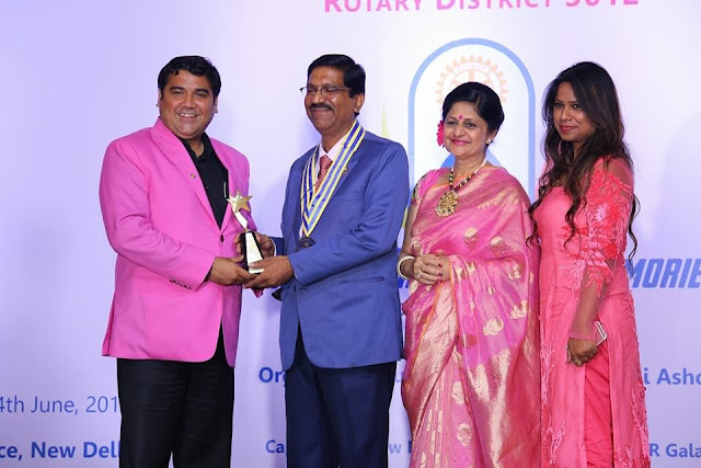 Rotary Club of Capital City New Delhi Bags 7 Awards at District Ceremony