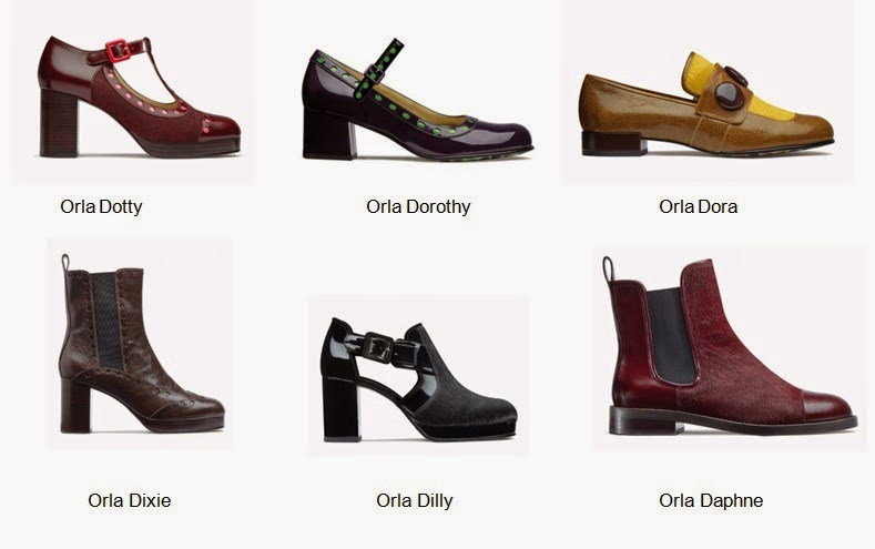2c2700c6 Gar&Mann:L: Orla Kiely x Clarks A/W2014 capsule collection