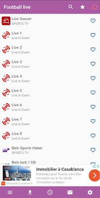 افضل تطبيق لمشاهدة المباريات للاندرويد 2019