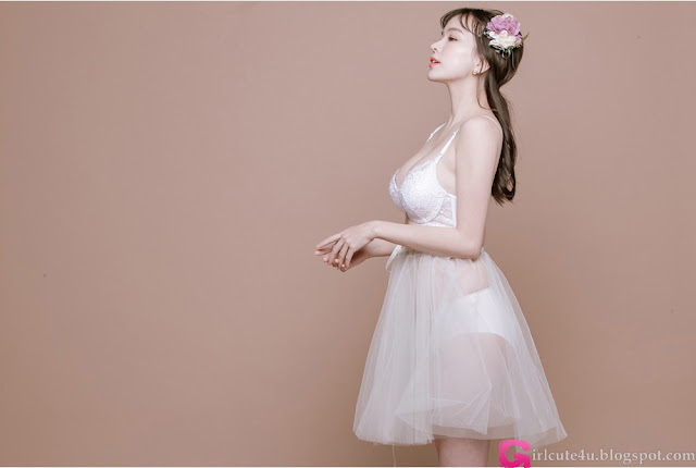 Haneul  Lingerie Set - very cute asian girl - girlcute4u.blogspot.com (1)