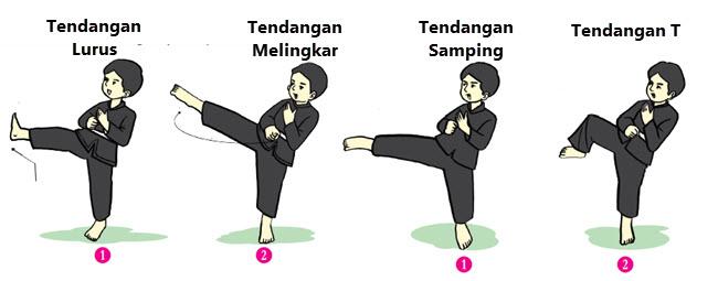 Pencak silat merupakan seni bela diri khas Indonesia Variasi Gerak Nonlokomotor dalam Pencak Silat