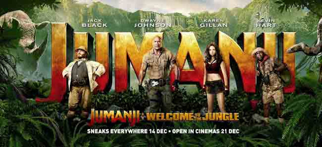 Sinopsis Jumanji : Welcome to the Jungle 2017 Review Daftar Pemain Trailer
