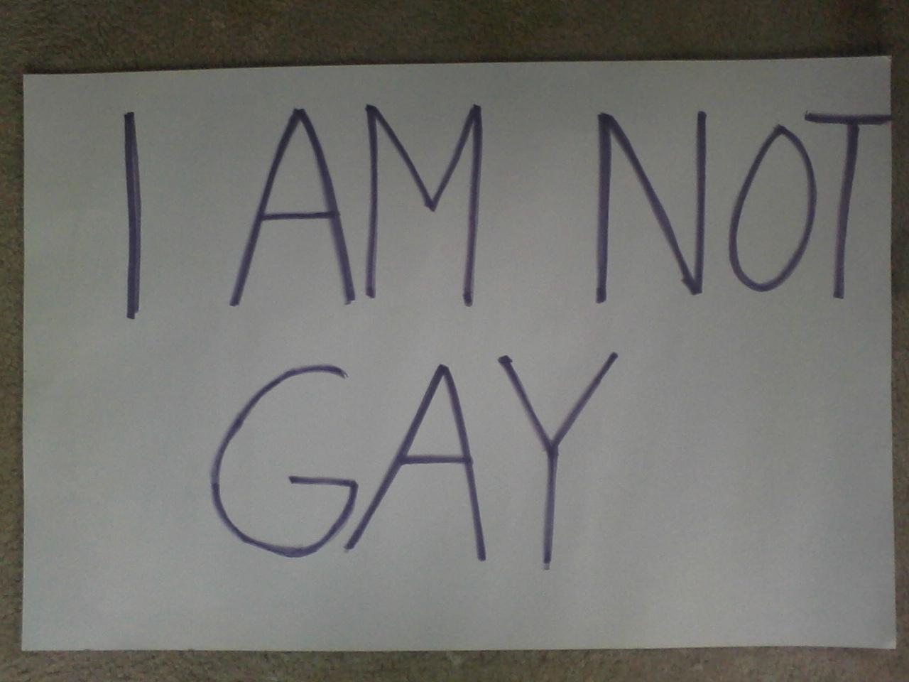 I Am Gay Sign