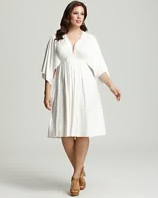 On Vogue 4 Plus Size Little White | LATEST FASHION TREND