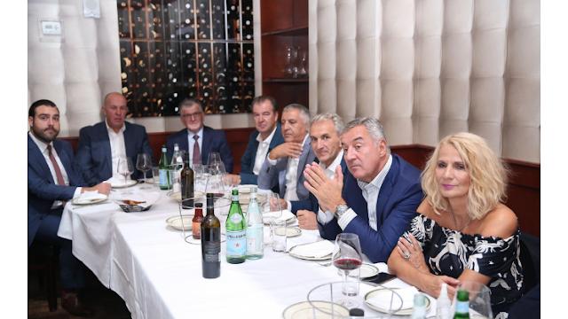Đukanović se sastao sa predstavnicima dijaspore u Njujorku