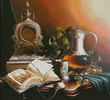 Часы и книга