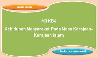 kehidupan masyarakat pada masa kerajaan kerajaan islam m3 kb4